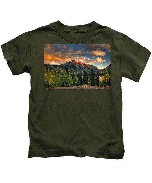 North Twilight Peak Kids T-Shirt