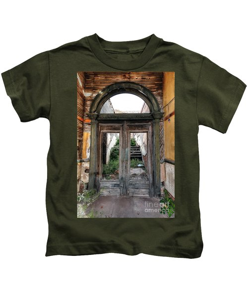 0707 Jerome Ghost Town Kids T-Shirt