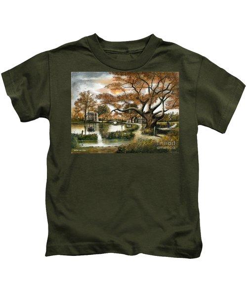 Autumn Stroll Kids T-Shirt