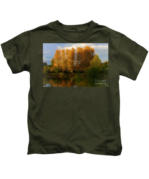 Autumn Trees Kids T-Shirt