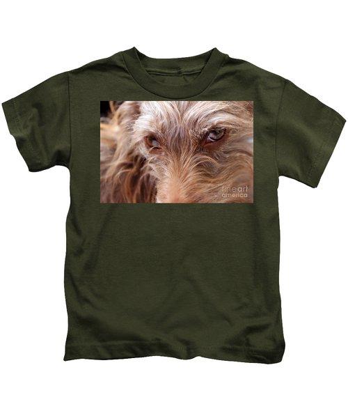 Dog Stare Kids T-Shirt