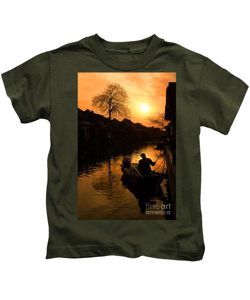 Fisherman Kids T-Shirt
