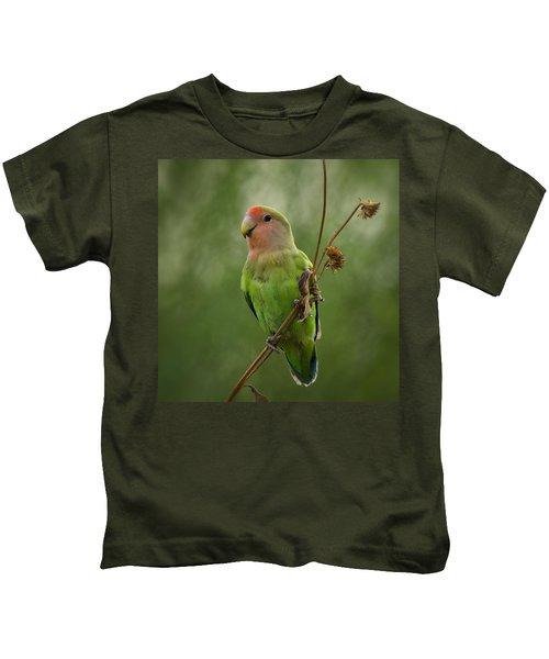 Lovely Little Lovebird  Kids T-Shirt