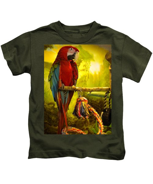 Kids T-Shirt featuring the photograph Lucky Look by Colette V Hera  Guggenheim