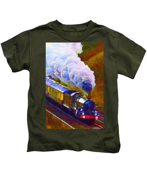 Making Smoke Kids T-Shirt