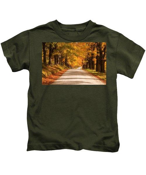 Maple Tree Canopy Kids T-Shirt