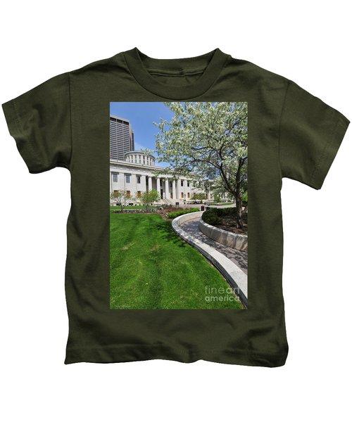D13l-145 Ohio Statehouse Photo Kids T-Shirt