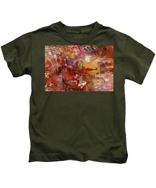Petrified Wood Detail Kids T-Shirt