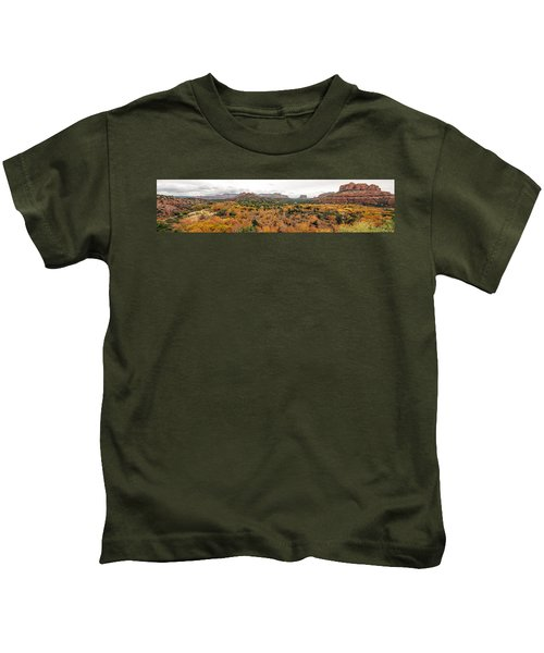 Sedona Panorama Kids T-Shirt
