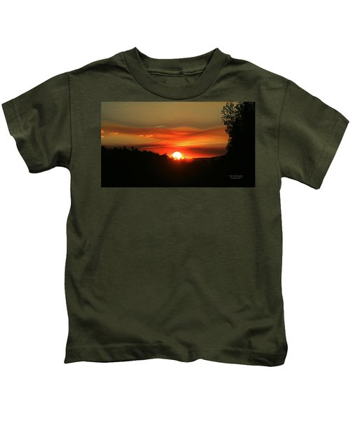 Smokin' Payson Sunset Kids T-Shirt