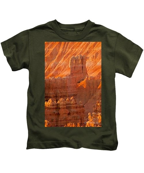 Sunrise At Sunset Point Bryce Canyon National Park Kids T-Shirt