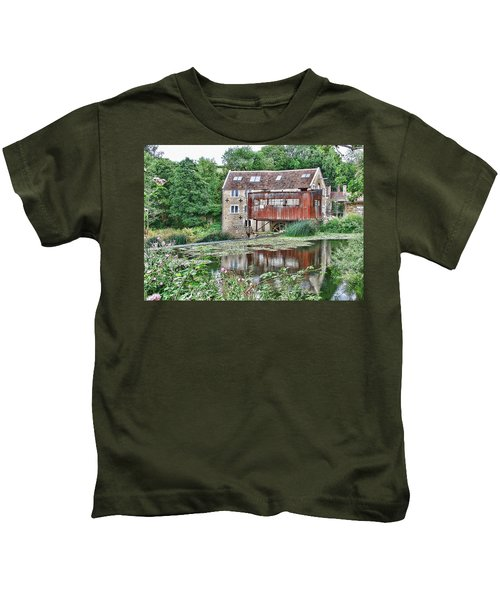 The Old Mill Avoncliff Kids T-Shirt