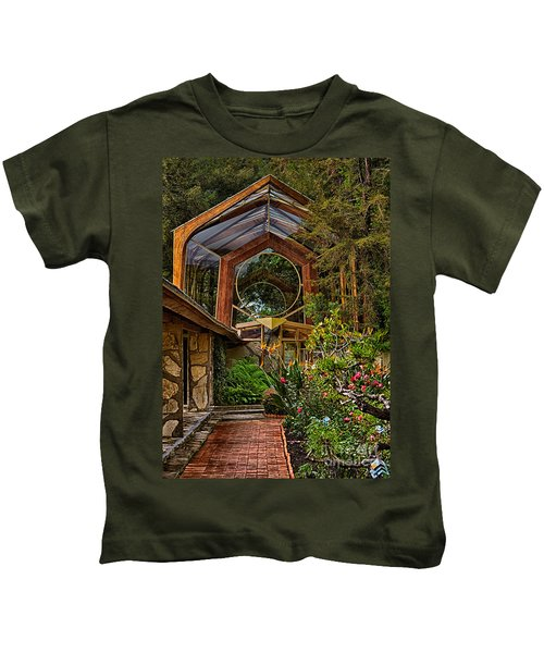 The Wayfarers Chapel Kids T-Shirt