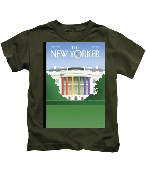 New Yorker May 21st, 2012 Kids T-Shirt