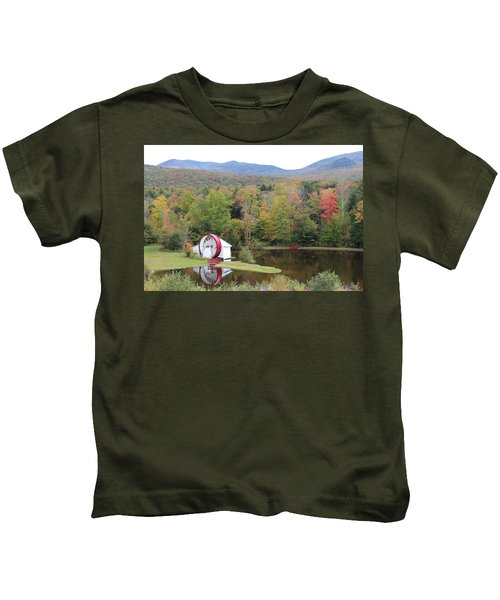 White Mountains Indian Head Nh Kids T-Shirt