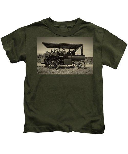 1921 Aultman Taylor Tractor Kids T-Shirt