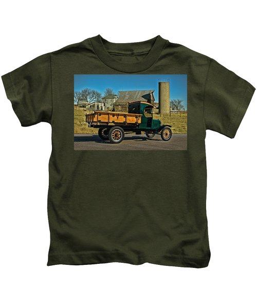 1923 Ford Model Tt One Ton Truck Kids T-Shirt