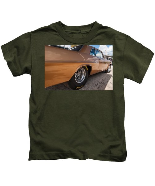 1963 Pontiac Lemans Race Car Kids T-Shirt