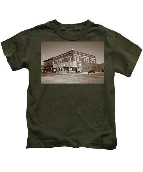 Alpena Michigan - Thunder Bay Theatre Kids T-Shirt