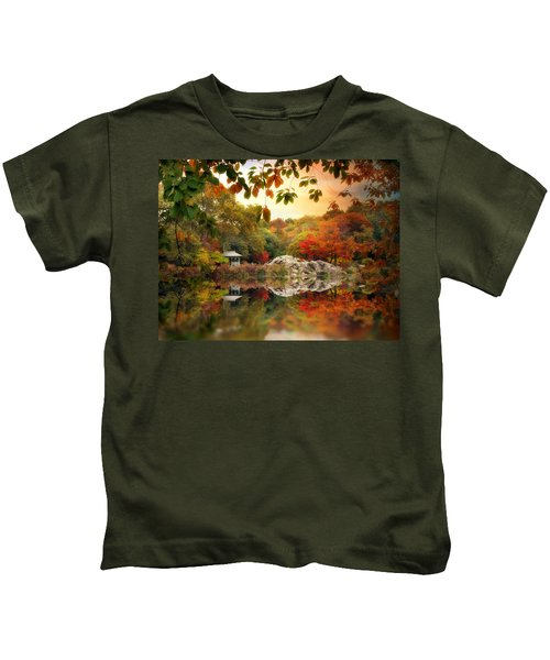 Autumn At Hernshead Kids T-Shirt
