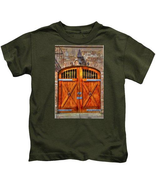 Doors Of Charleston Kids T-Shirt
