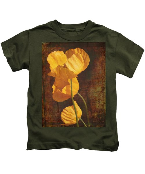 Icelandic Poppy Kids T-Shirt