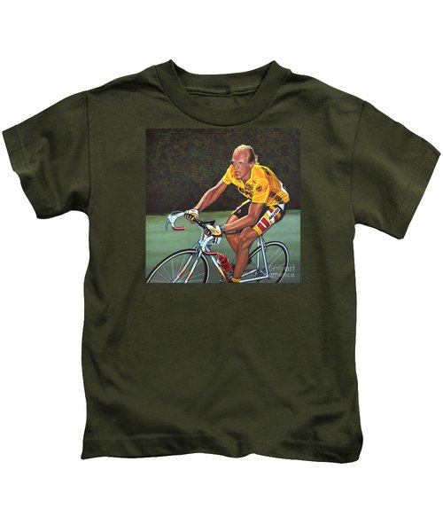 Laurent Fignon  Kids T-Shirt