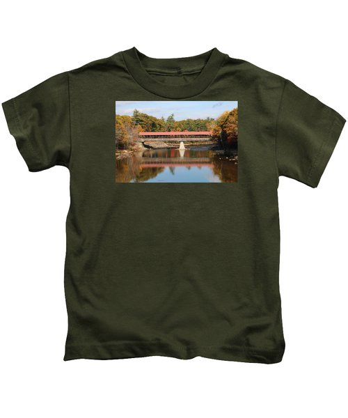 Nh Covered Bridge  Kids T-Shirt