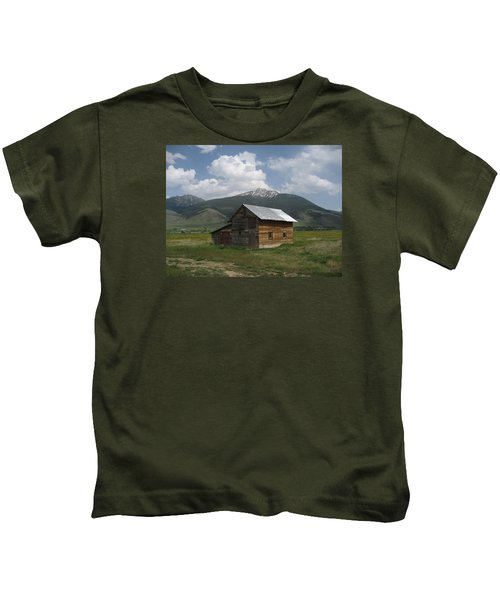Paradise Valley Montana Kids T-Shirt