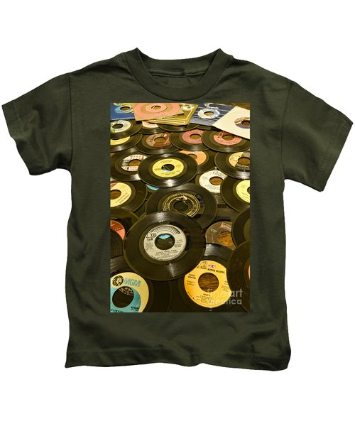 Those Old 45s Kids T-Shirt