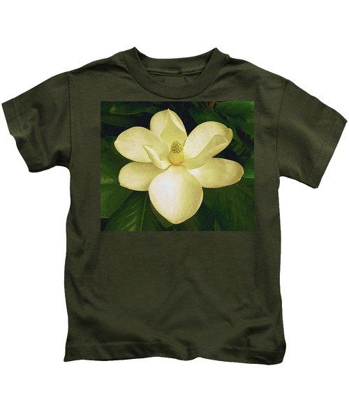 Vintage Magnolia Kids T-Shirt