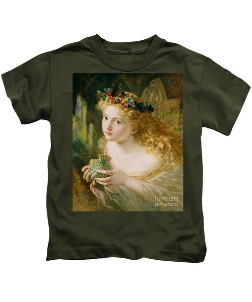 Take The Fair Face Of Woman Kids T-Shirt