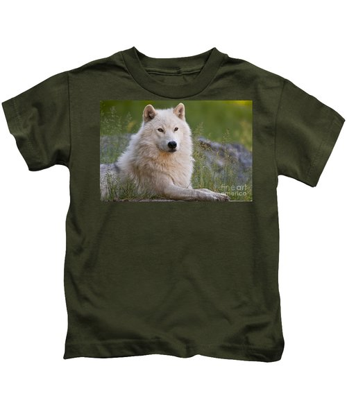 Arctic Wolf Kids T-Shirt
