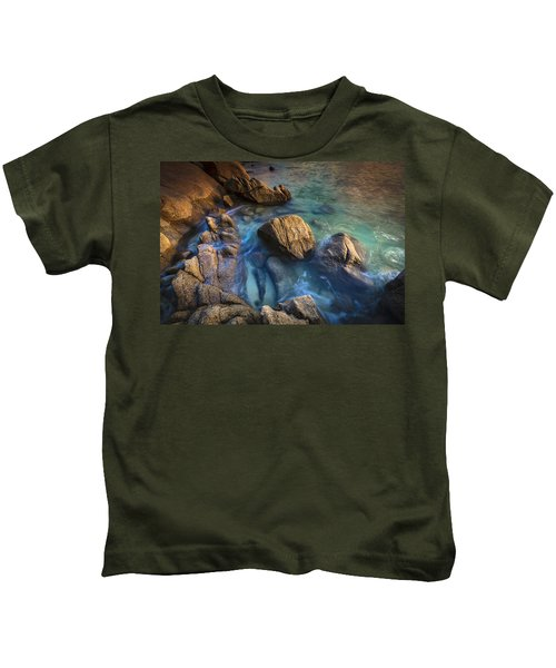 Chanteiro Beach Galicia Spain Kids T-Shirt