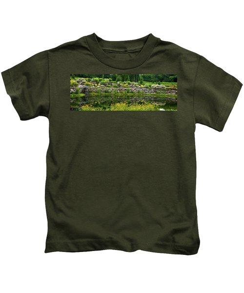 Rocks And Plants In Rock Garden Kids T-Shirt