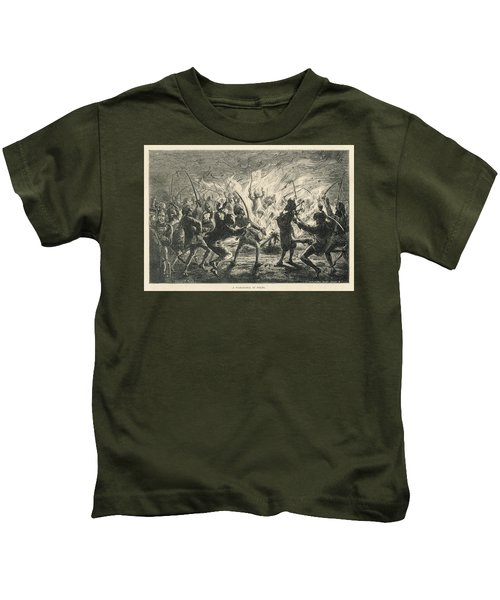Semipalmated Sandpipers Kids T-Shirt