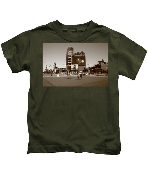 Citizens Bank Park - Philadelphia Phillies Kids T-Shirt