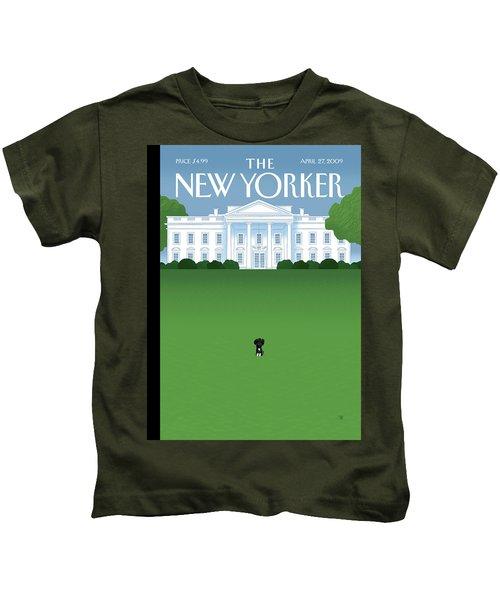 New Yorker April 27th, 2009 Kids T-Shirt