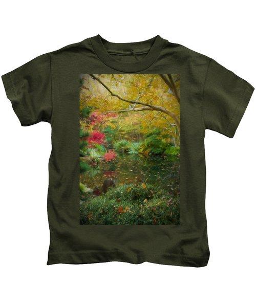 A Fall Afternoon Kids T-Shirt