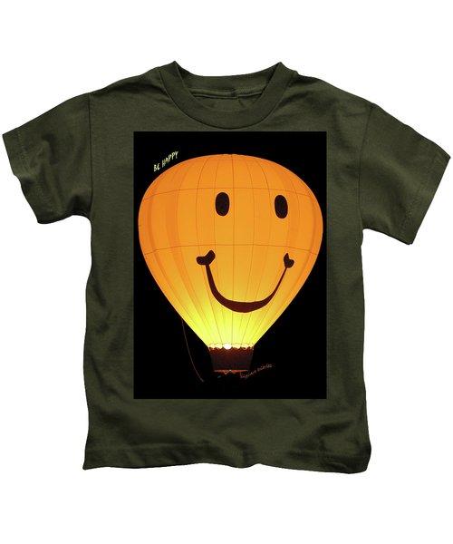 A Glowing Smile Kids T-Shirt