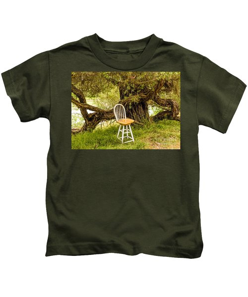 A Little Solitude Kids T-Shirt