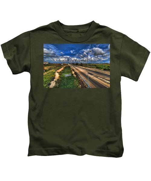 a majestic springtime in Israel Kids T-Shirt