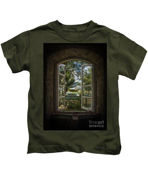 A Paradise Awaits Kids T-Shirt
