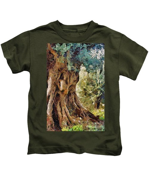 A Really Old Olive Tree Kids T-Shirt