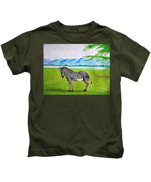 A Striped Chap Kids T-Shirt