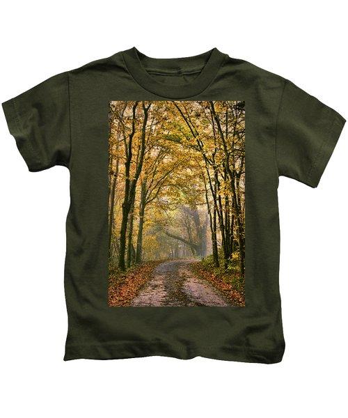 A Touch Of Gold Kids T-Shirt