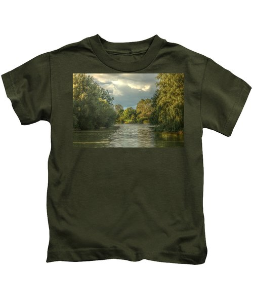 A View Down The Lake Kids T-Shirt