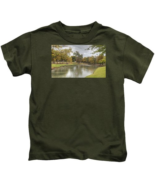 A Walk In The Park Kids T-Shirt