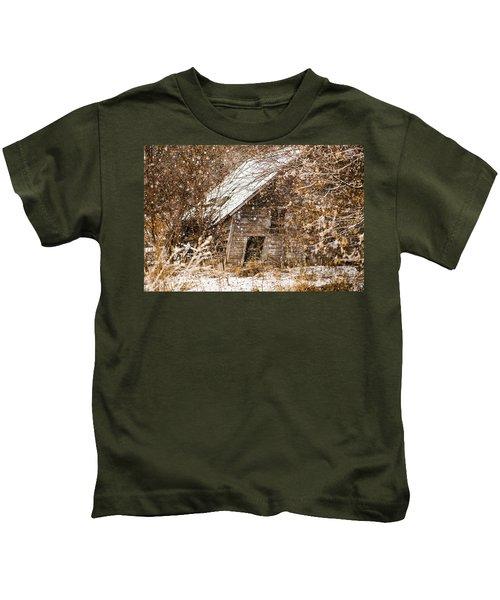 A Winter Shed Kids T-Shirt