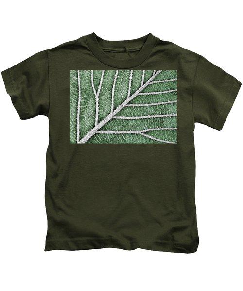 Abstract Leaf Art Kids T-Shirt